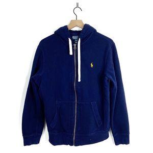 Polo Ralph Lauren Zip Up Hooded Sweatshirt Large